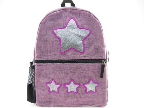 Le Brillant – sac à dos éthique – Lilas – Étoile