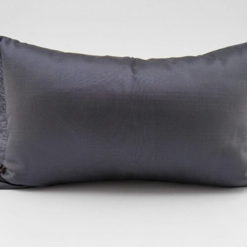 Organza Cushion Cover – Charcoal – 45x27cm