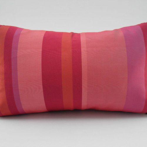 Kep Stripe Cushion Cover – Fuchsia / Red – 45x27cm