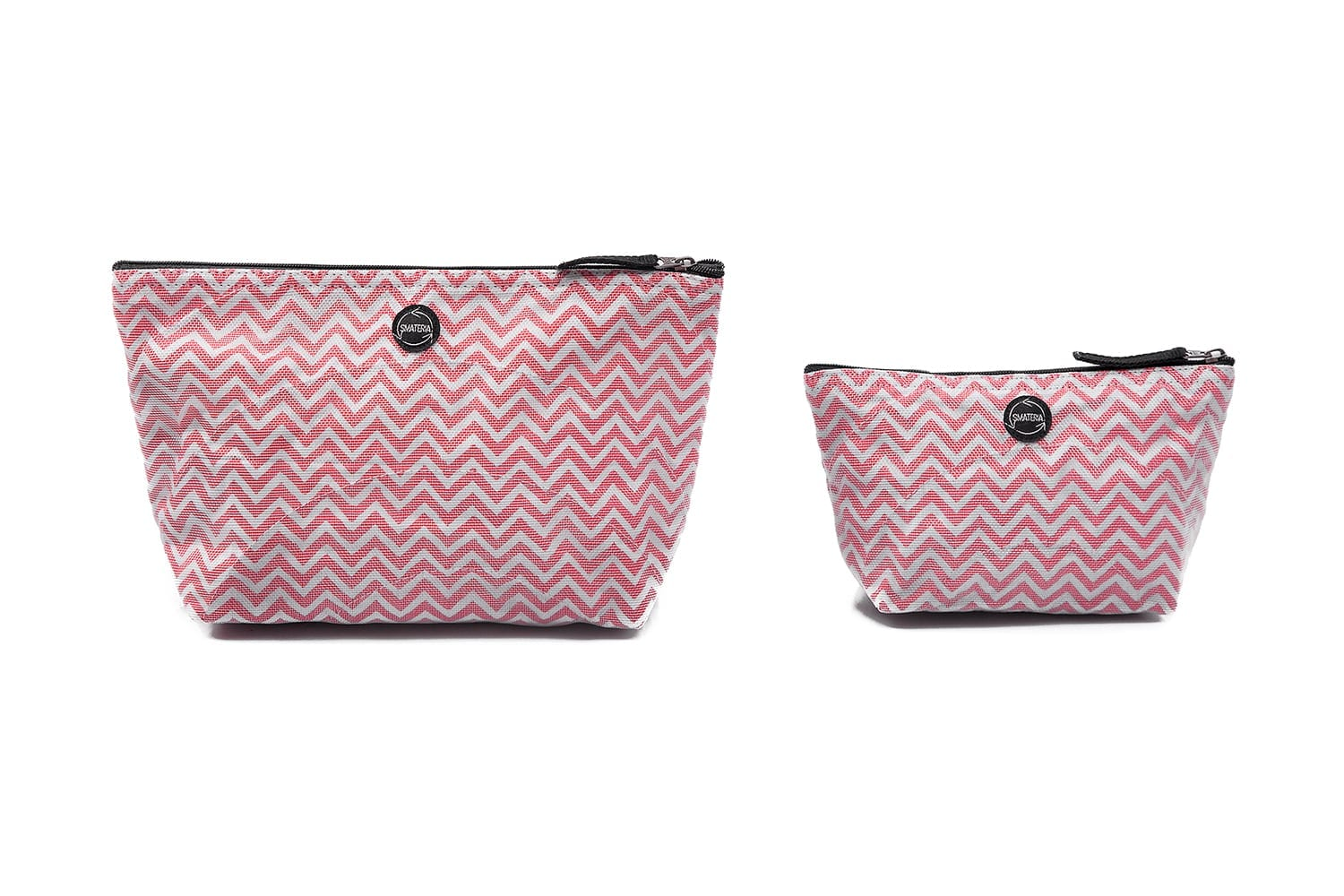 Nick – Ethical vanity case – Large – Small – Red chevron
