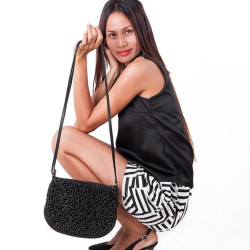 Sparkle 3D - Eco-friendly Crossbody Bag - Smateria