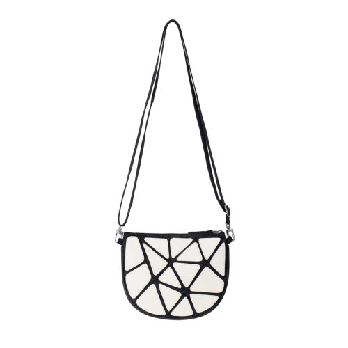 Epic – Eco-friendly Leather Crossbody Bag – White