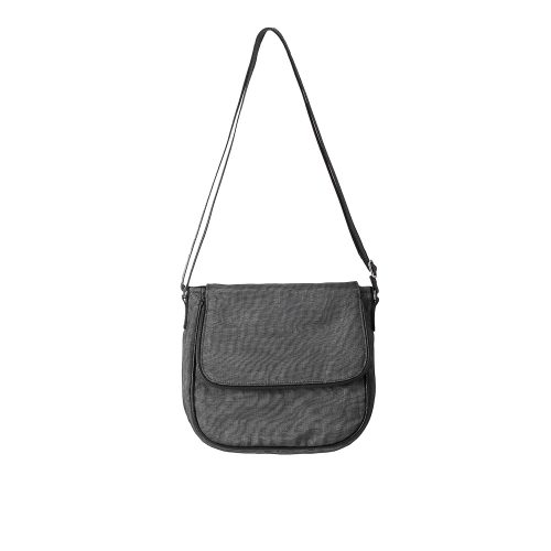 Square - Ethical Crossbody bag - Charcoal