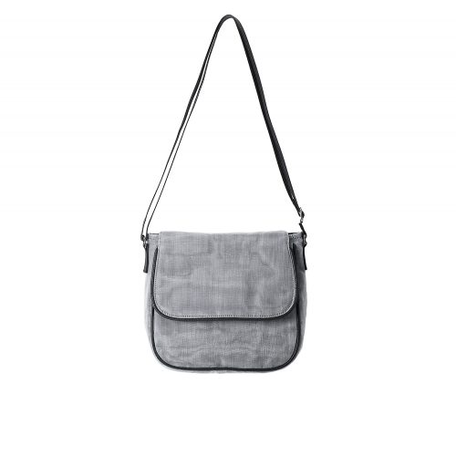 Square - Ethical Crossbody bag - Gray