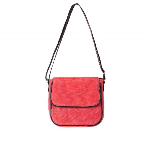 Square - Ethical Crossbody bag - Red