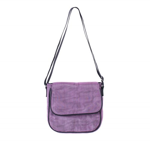 Square - Ethical Crossbody bag - Lilac