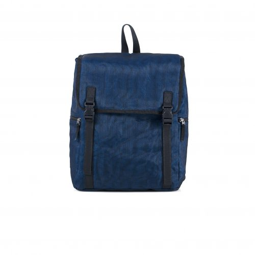 Skyway - ethical backpack - Navy blue