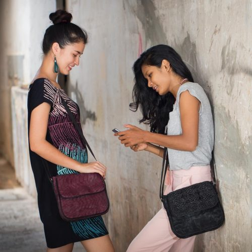 Square - Ethical Crossbody bag - Smateria