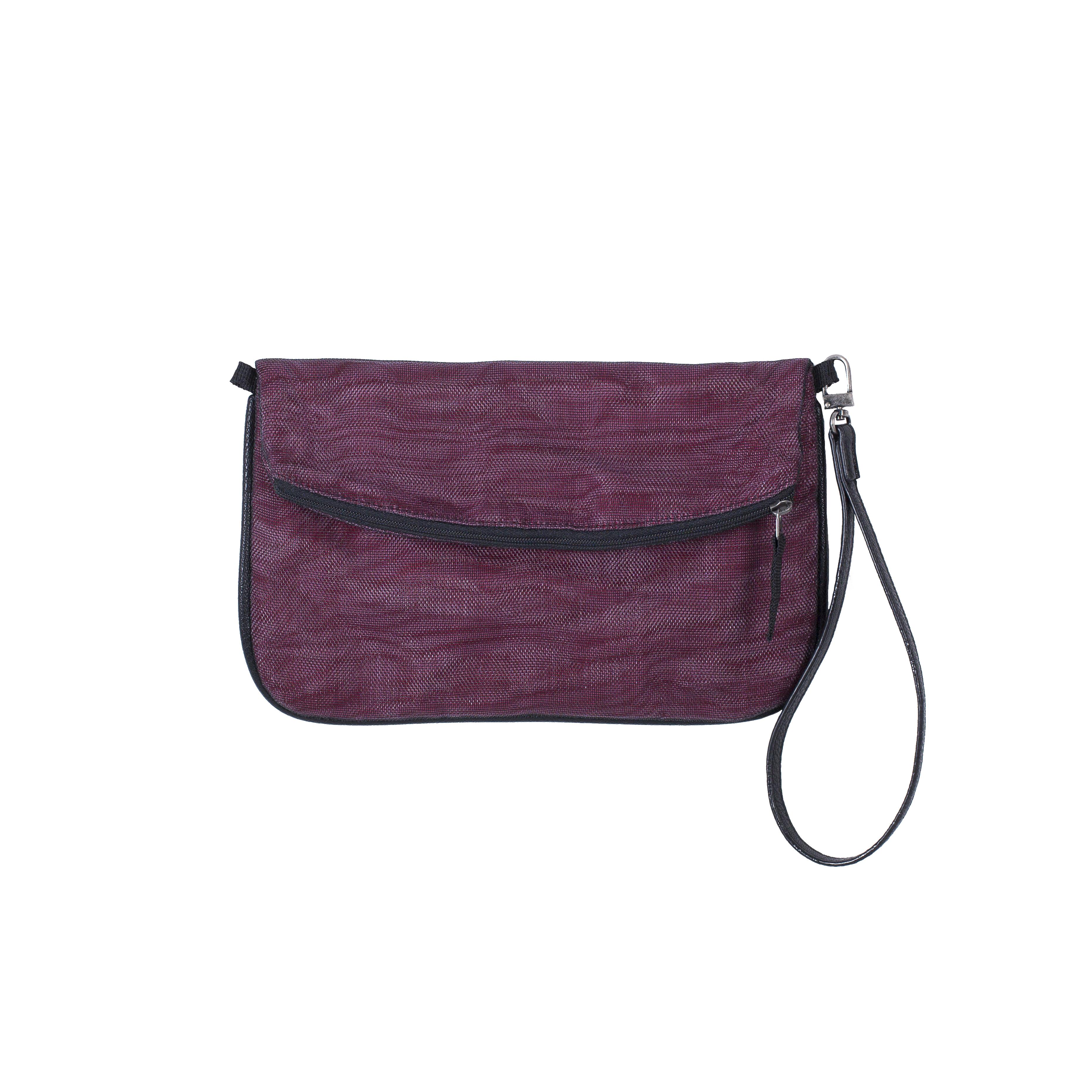 Sophea - Ethical Strap Wallet - Burgundy