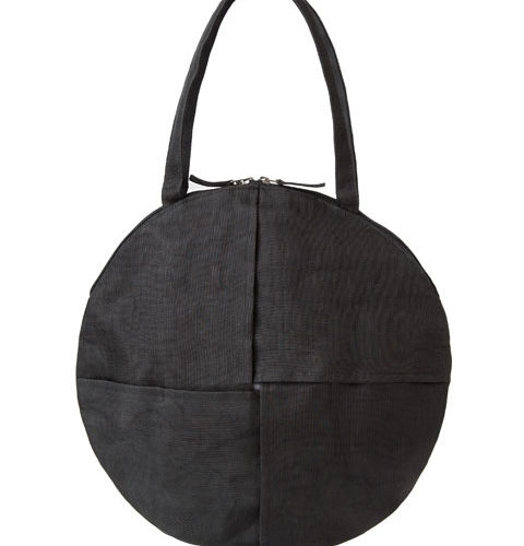 Chanlina – Ethical round bag – Black
