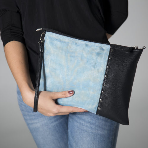 Sann - Ethical Strap Wallet - Smateria - Detail