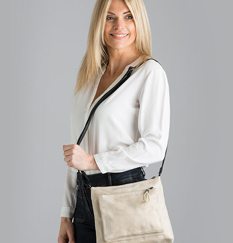 Bustle – Ethical Crossbody Bag - Smateria