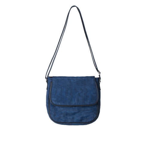 Square – Ethical Crossbody bag - Navy blue