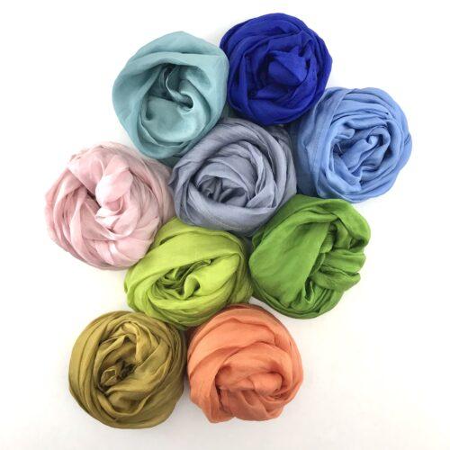 Sorbet Collection – Fair Trade Silk Scarf