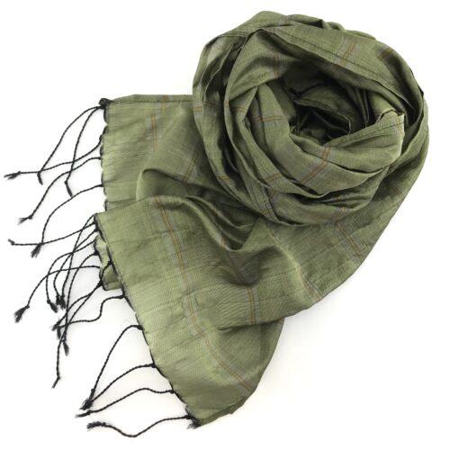 Foulard Équitable Thé Vert - Essentiel