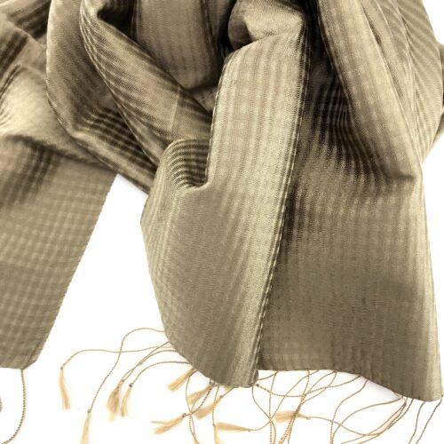 Vichy Scarf – Silk