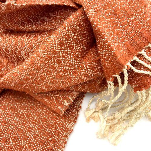 Romduol – Raw Silk Scarf