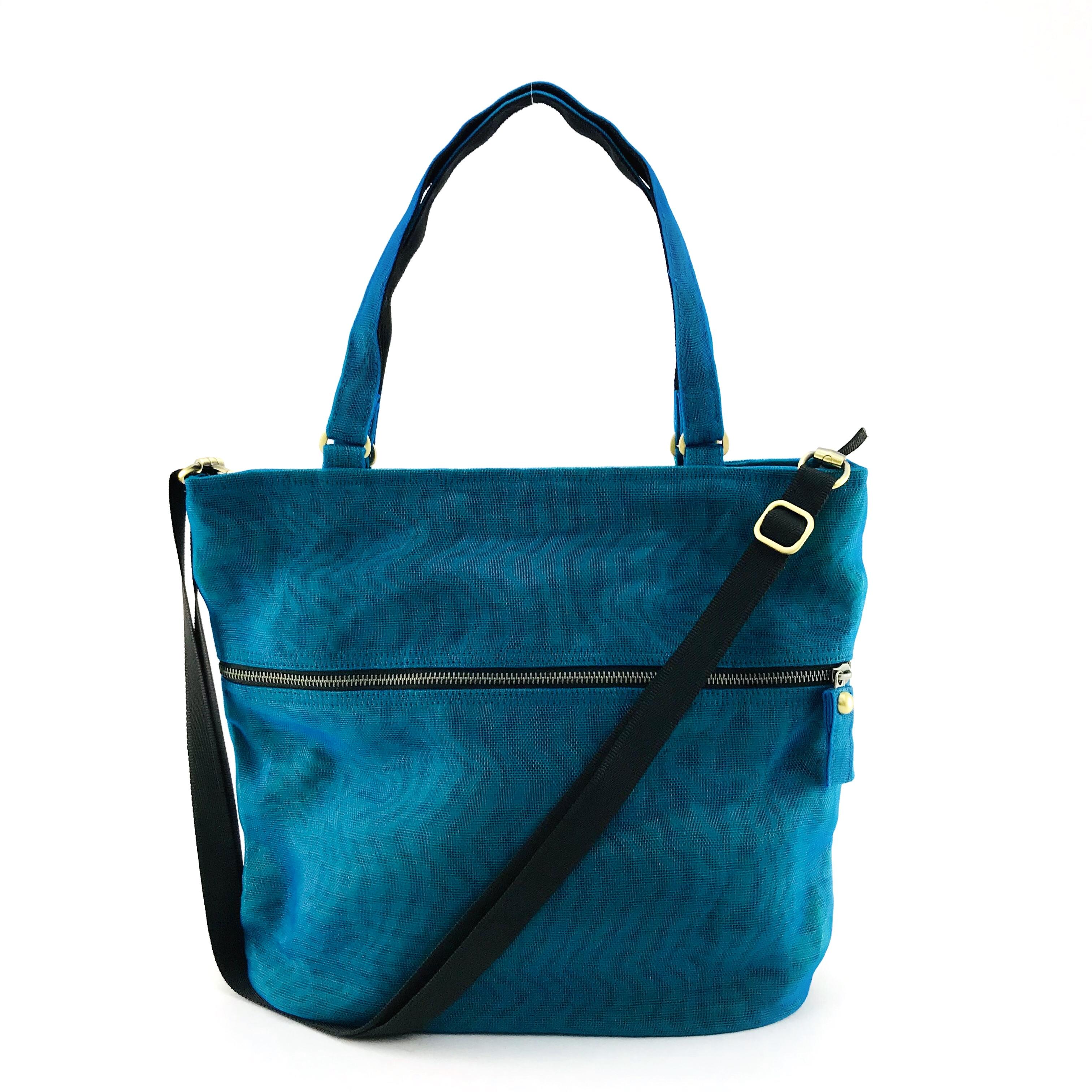 Drop - Ethical Handbag - Oil Blue